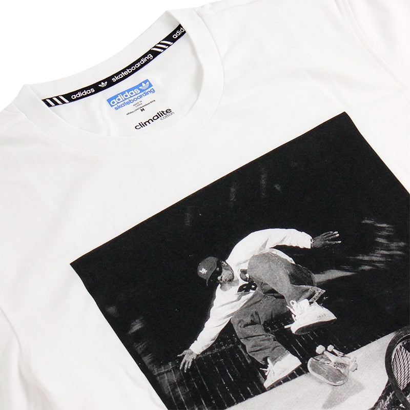 Adidas Skateboarding RYR Kareem T Shirt in White - Detail