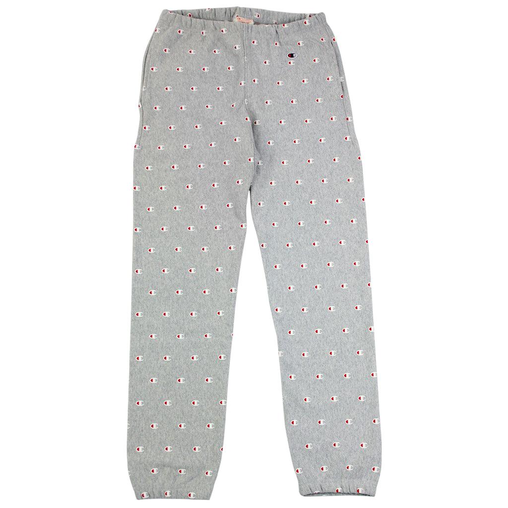Champion All Over Elastic Cuff Pant in Oxford Grey - Open