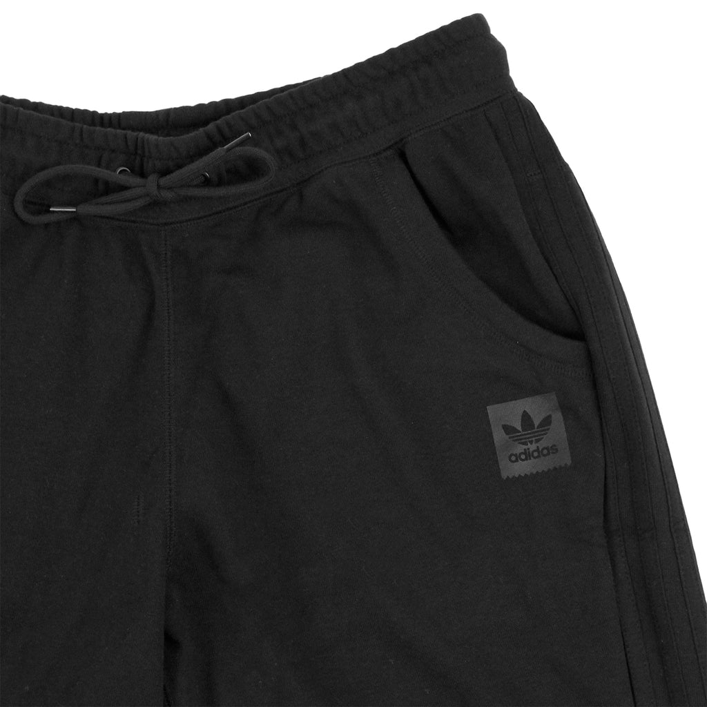 Adidas Skateboarding Clima Knit Shorts in Black - Detail