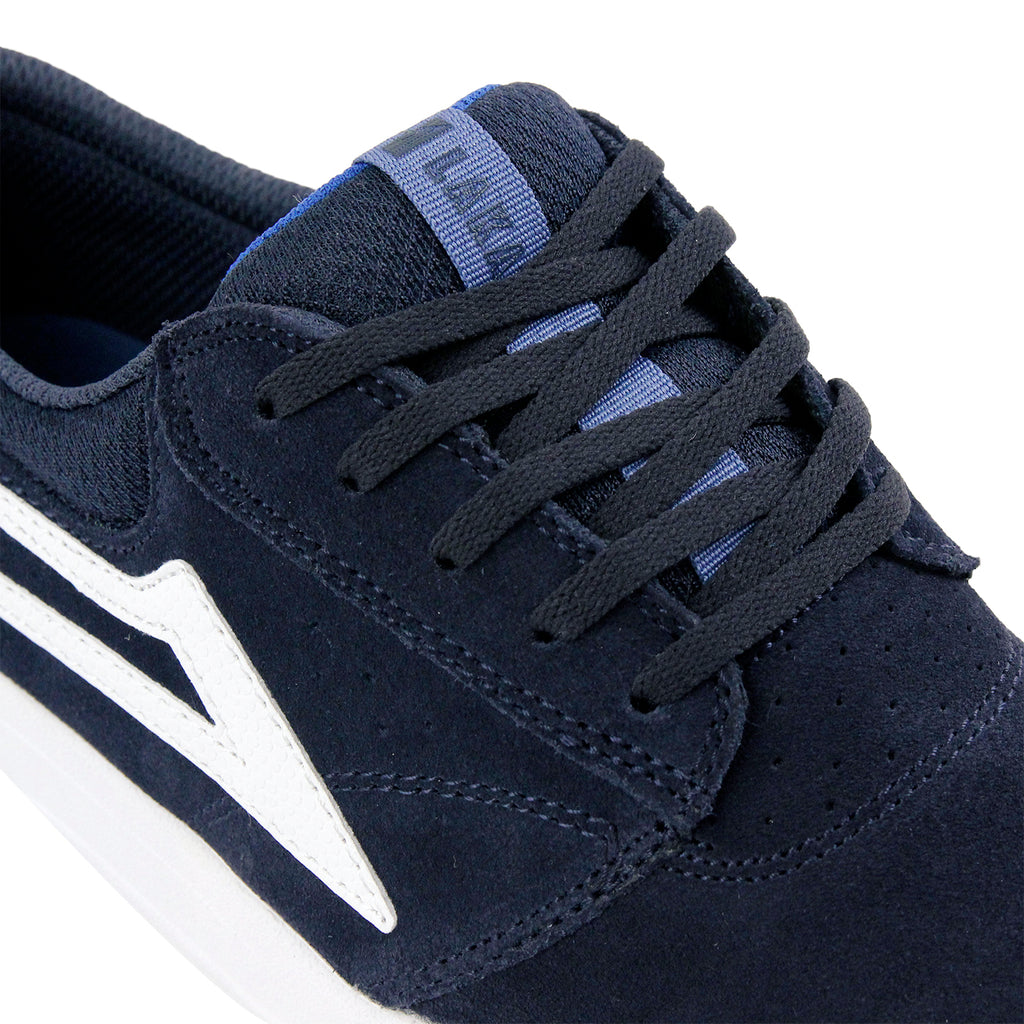 Lakai Griffin XLK Shoes in Navy / White - Detail