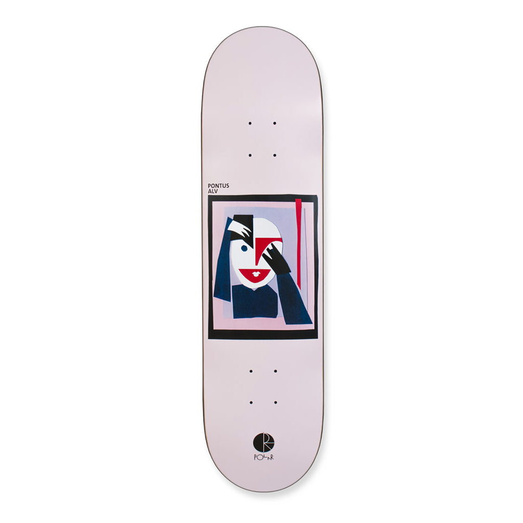 Polar Skate Co Pontus Alv Self Portrait 35 Deck in 8.375""