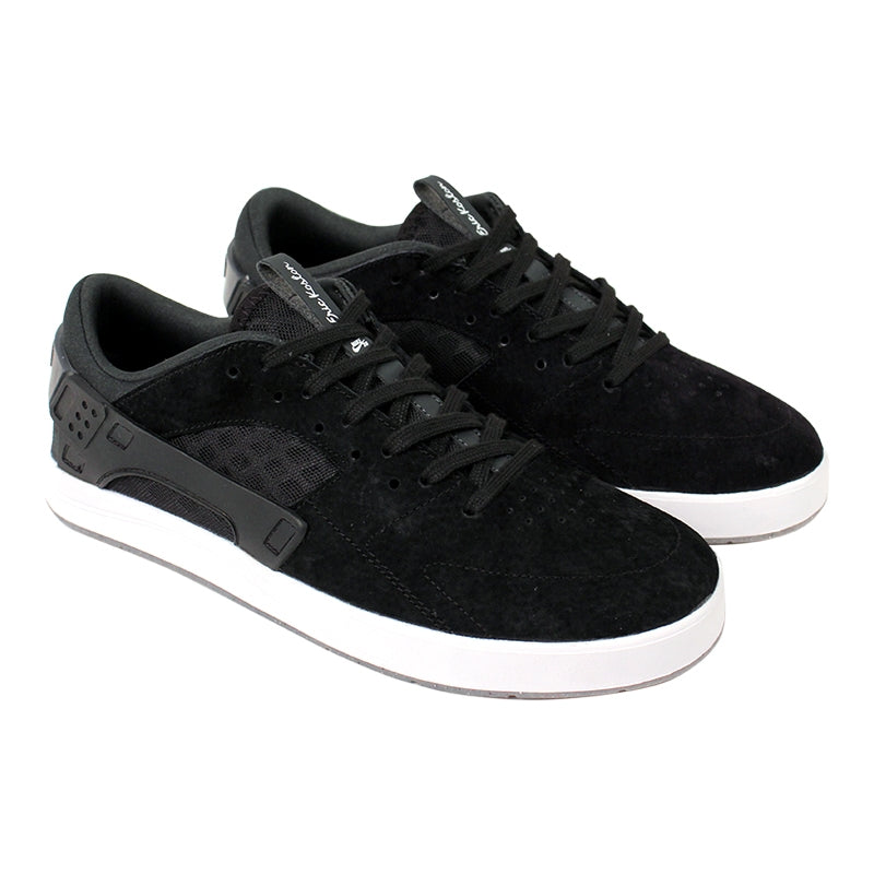 Nike SB Eric Koston Huarache Shoes in Black / Anthracite / White - Paired