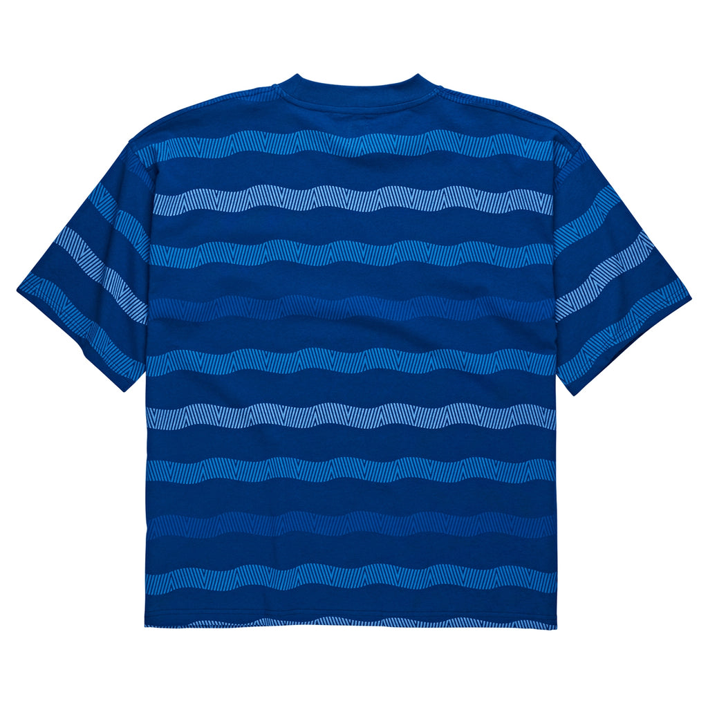 Polar Skate Co Wavy Surf T Shirt in Dark Blue - Back