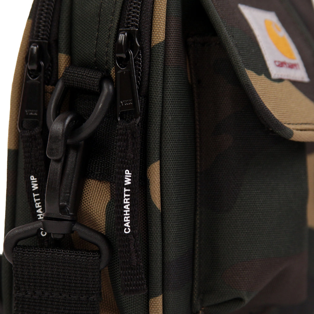 Carhartt Essentials Bag in Camo Laurel - Side detail