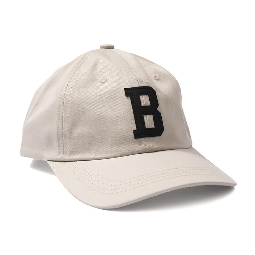 Bronze 56k Leather B Hat in Stone Khaki