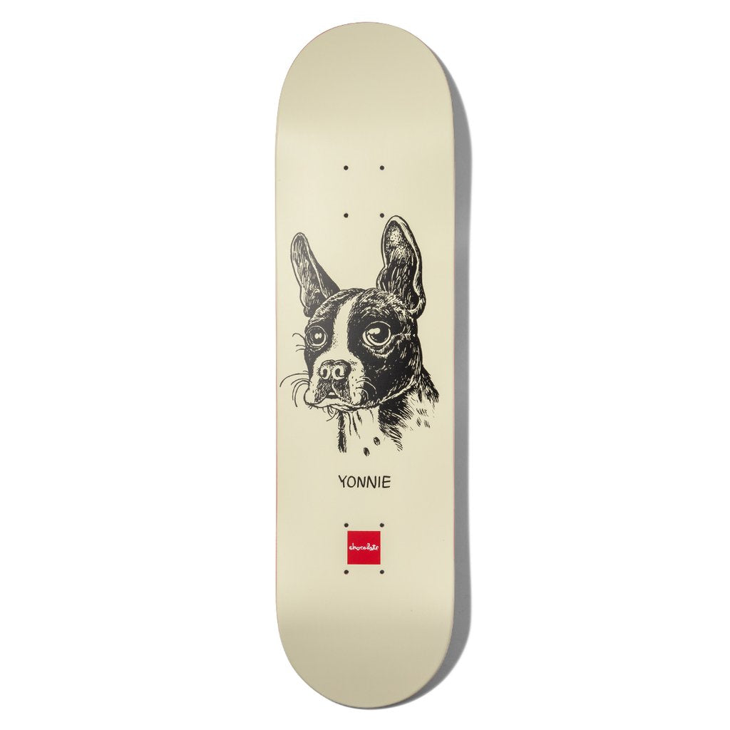 "Chocolate Skateboards Cruz Dawgs Skateboard Deck 8.125"" - Graphic"
