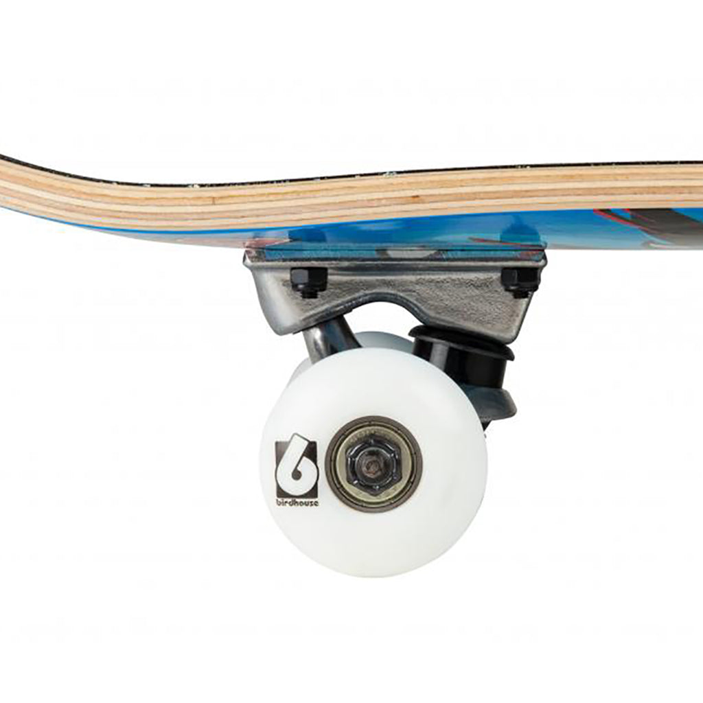"Birdhouse Skateboards Hawk Spiral Complete Skateboard in 7.75"" - Wheels"