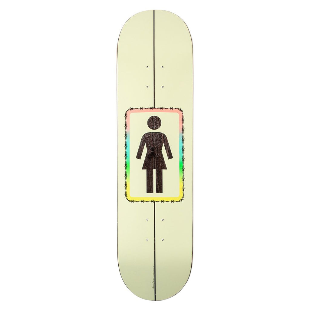 Girl Skateboards Brophy Barbed One Off Skateboard Deck in 8.5""