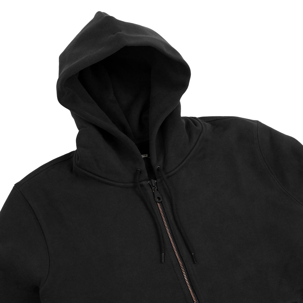 Levis Skateboarding Full Zip Hoodie in Jet Black - Detail