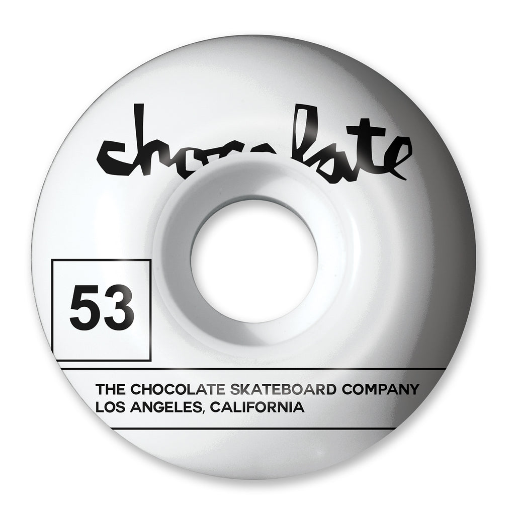 Chocolate Skateboards Team Stout Wheels in 53mm