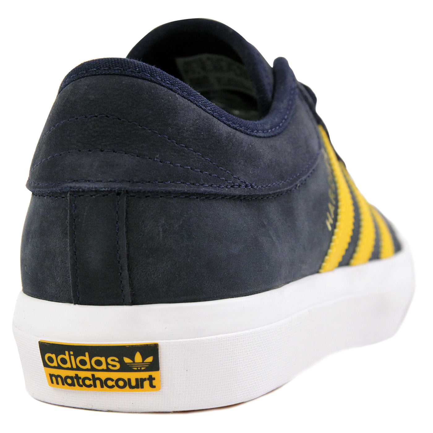 check out 97bcb 348be Adidas Skateboarding x Hardies Hardware Matchcourt Shoes - Collegiate Navy  / Customized / Footwear White. Size Charts