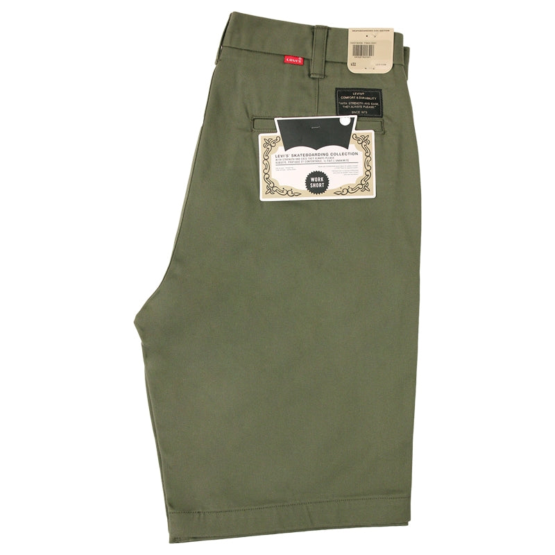Levi's Skateboarding Collection Skate Work Short in Ivy Green