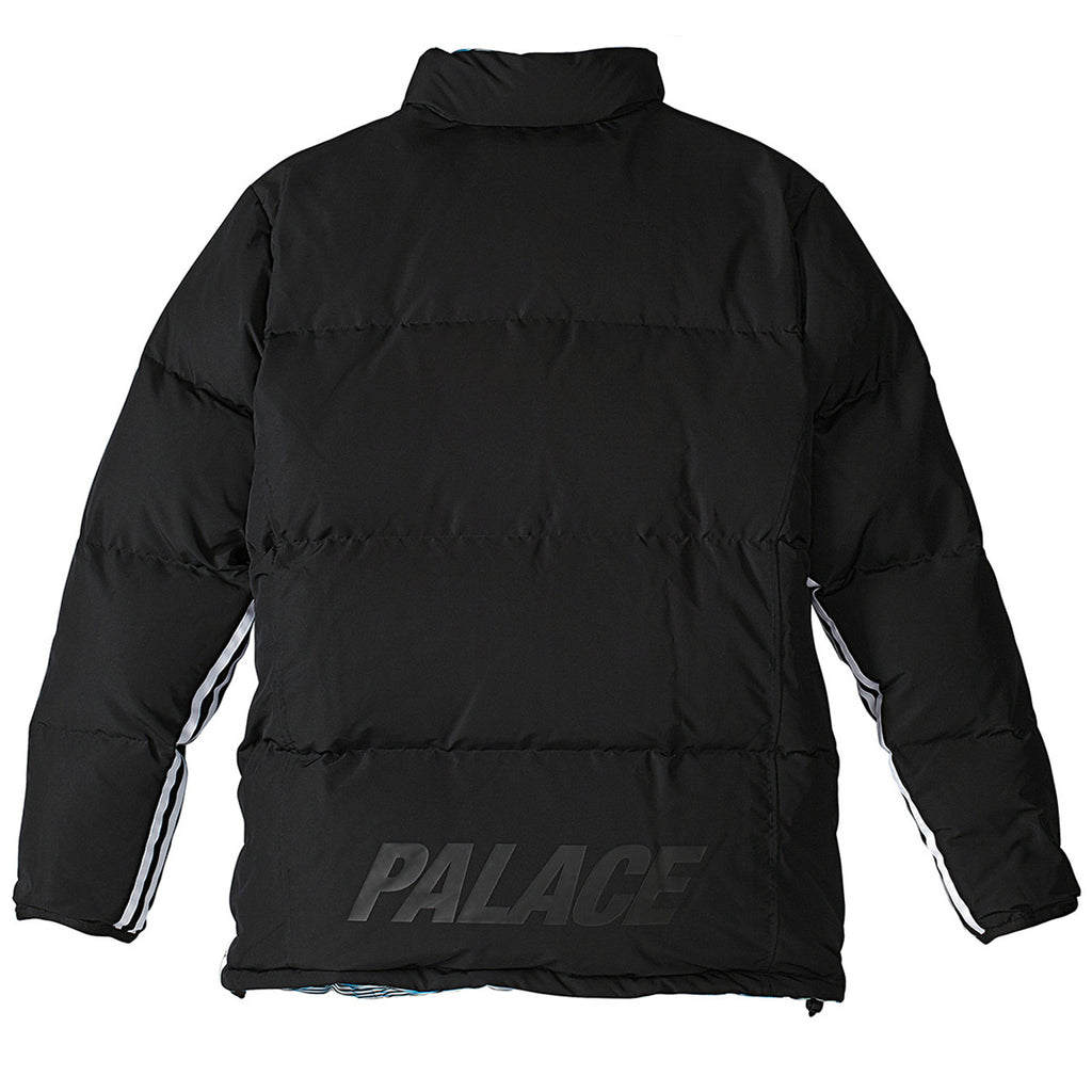 Palace x Adidas Reversible Down Jacket in Multi Colour / Black - Reverse Back