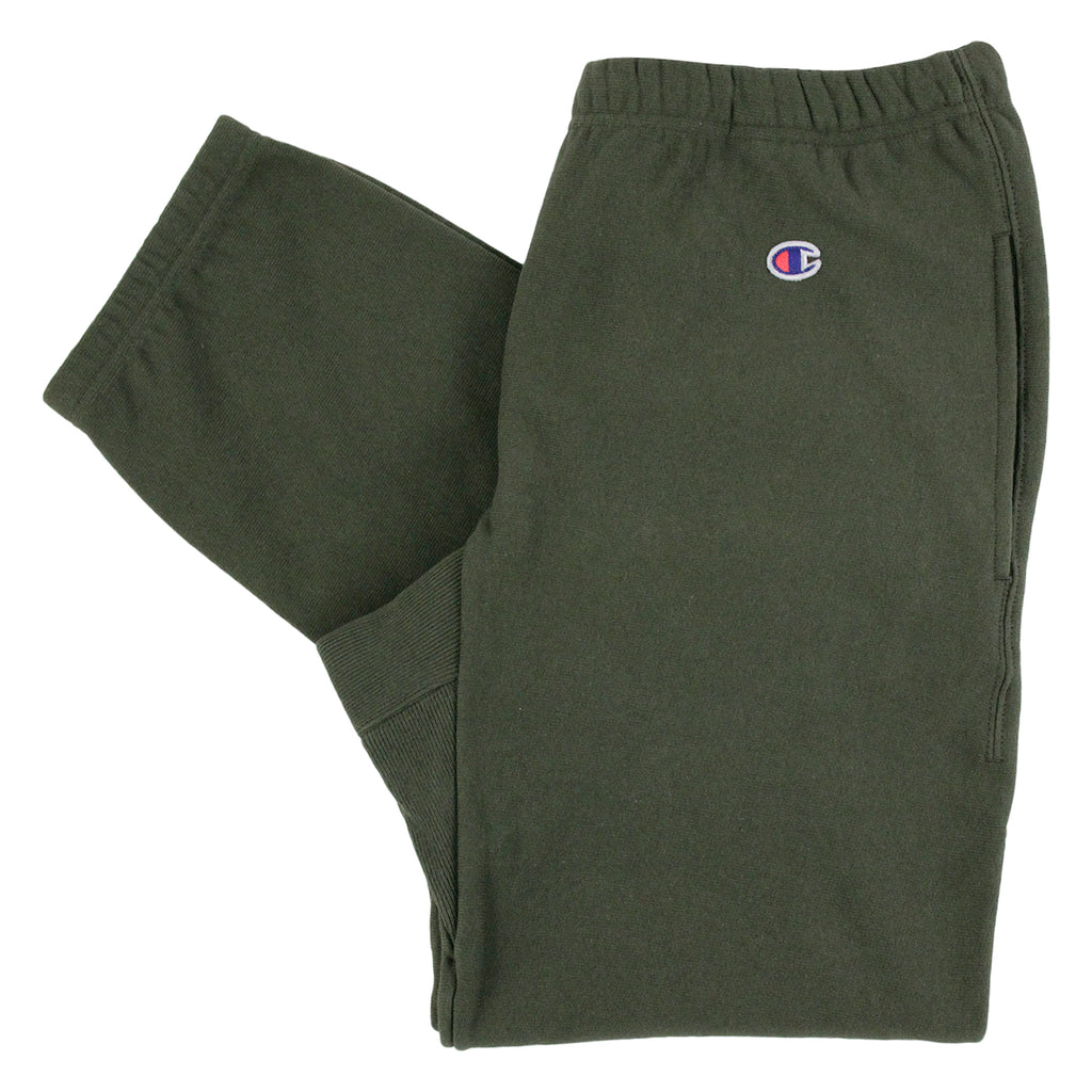 Champion Elastic Cuff Pant in Olive