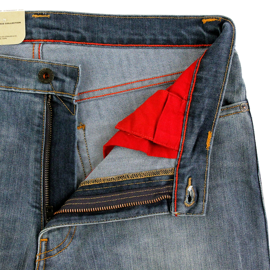 Levis Skateboarding 504 Straight Jeans in Del Sol - Unzipped