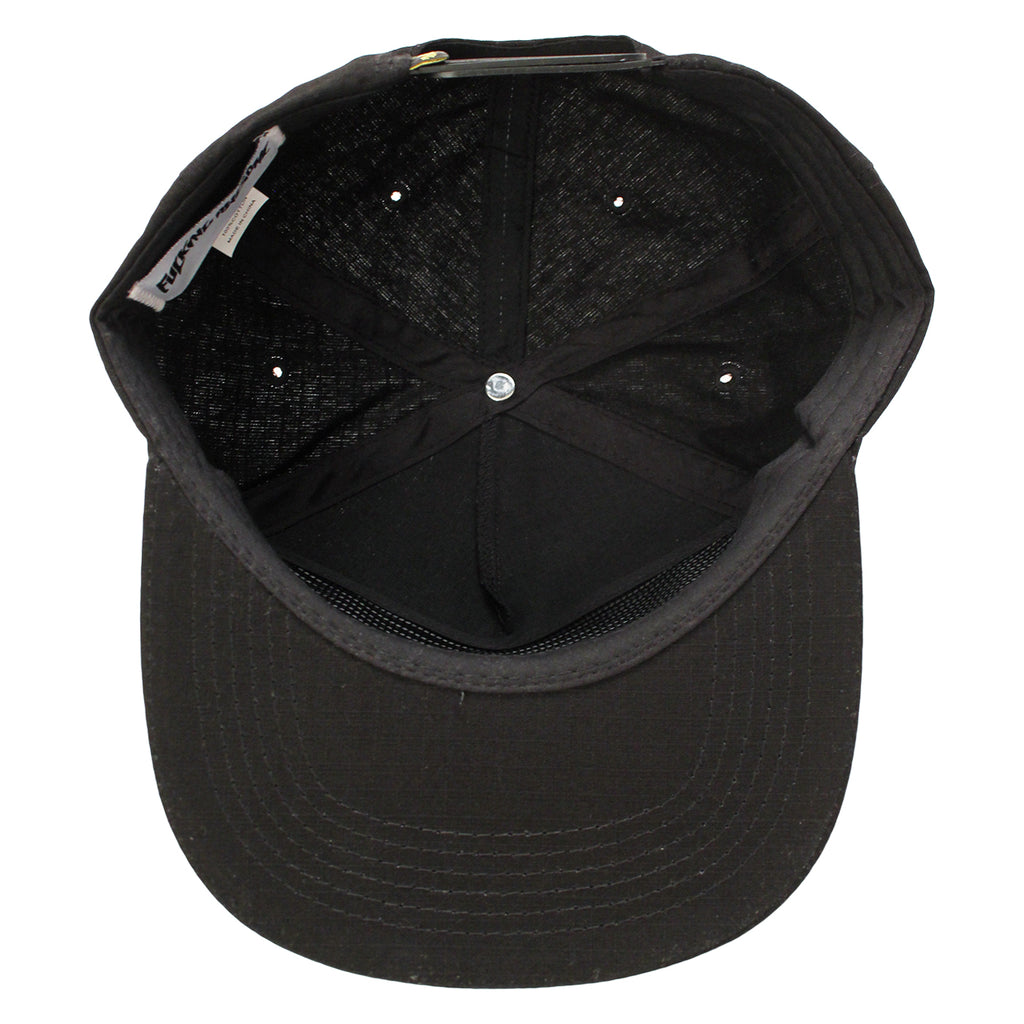 Fucking Awesome Africa Cap in Black - Inside