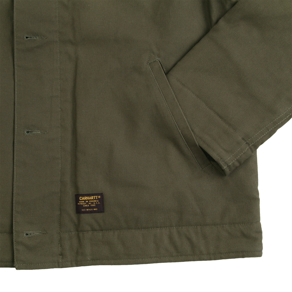 Carhartt Sheffield Jacket in Cypress - Cuff