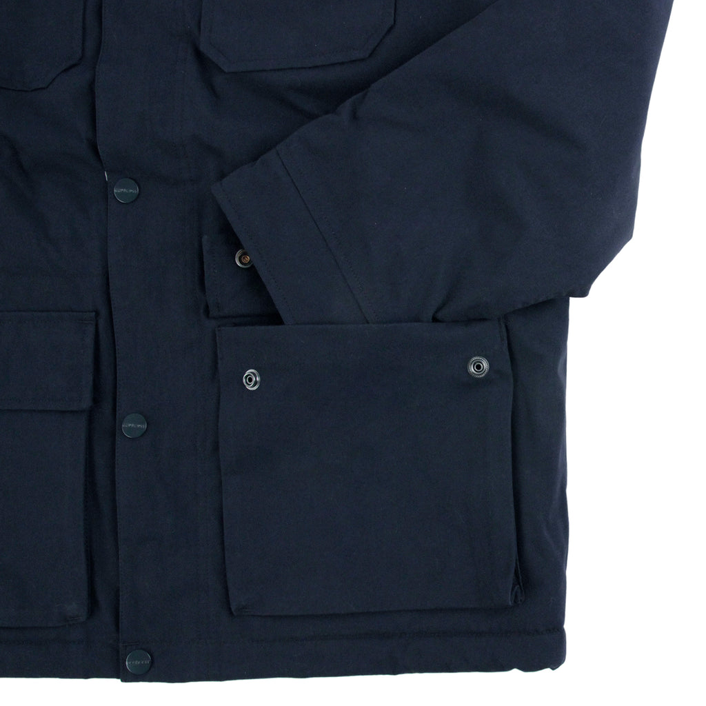 Carhartt Mentley Jacket in Navy - Pocket