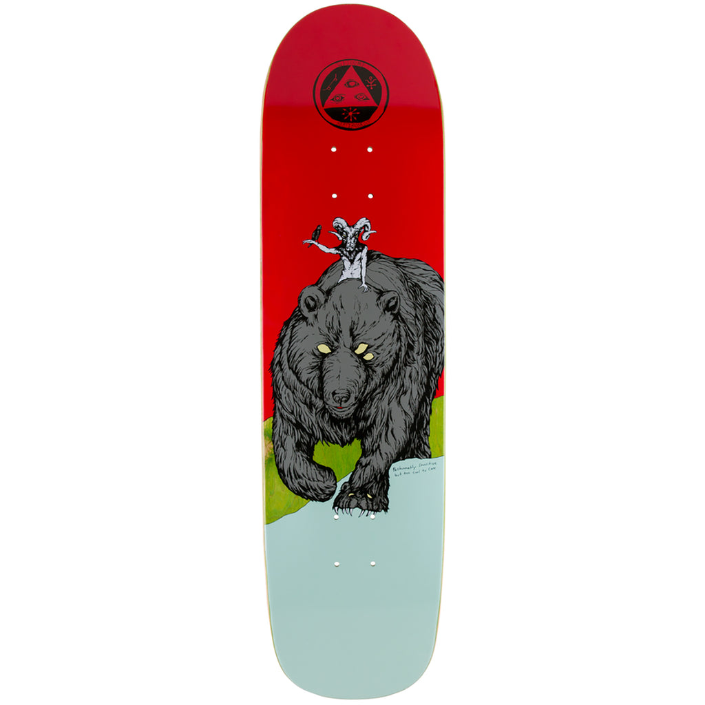 Welcome Skateboards Balan On Son Of Planchette Deck in Teal 8.38""