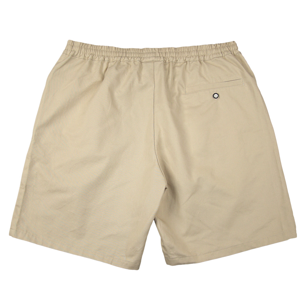 Helas Classic Chino Short in Beige - Back