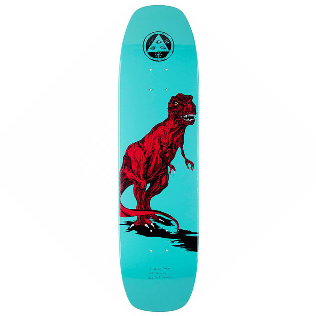 Welcome Skateboards Featherless Eclipse Deck in Mint 8.25""