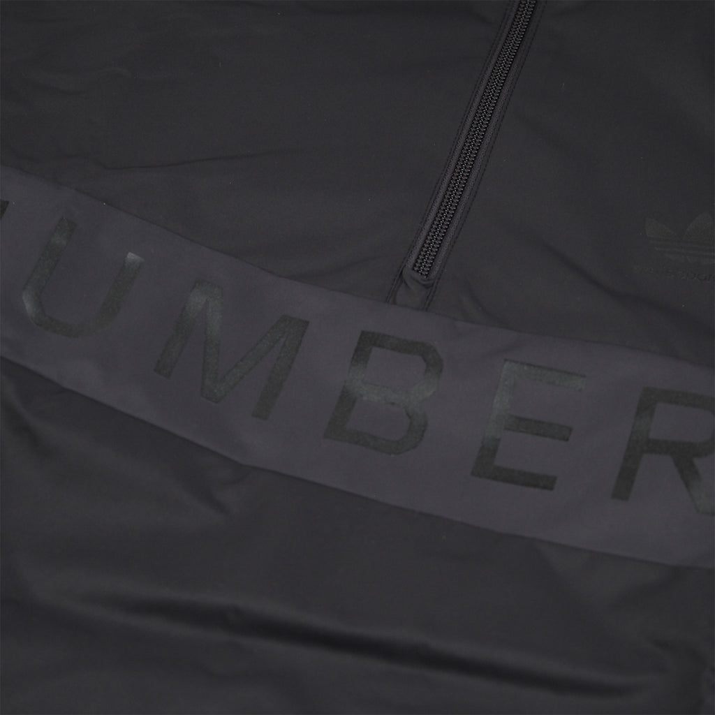 Adidas x Numbers Edition Track Top in Black / Grey Five / Carbon - Numbers Print