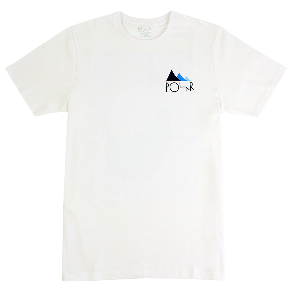 Polar Skate Co Cut Out BS Nosepick T Shirt in White - Front
