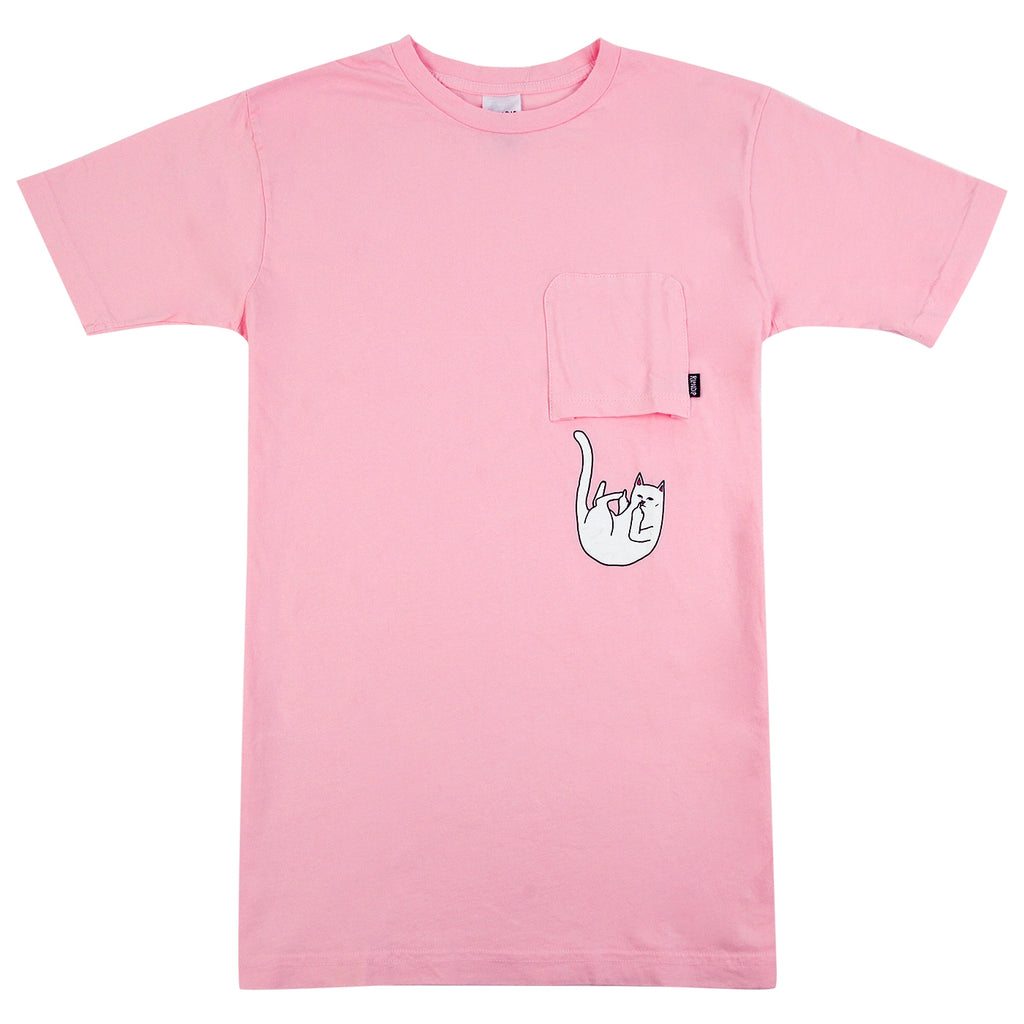 RIPNDIP Falling For Nermal T Shirt in Pink