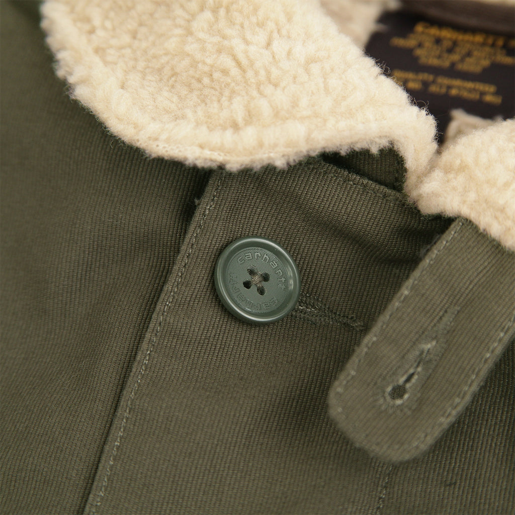 Carhartt Sheffield Jacket in Cypress - Button