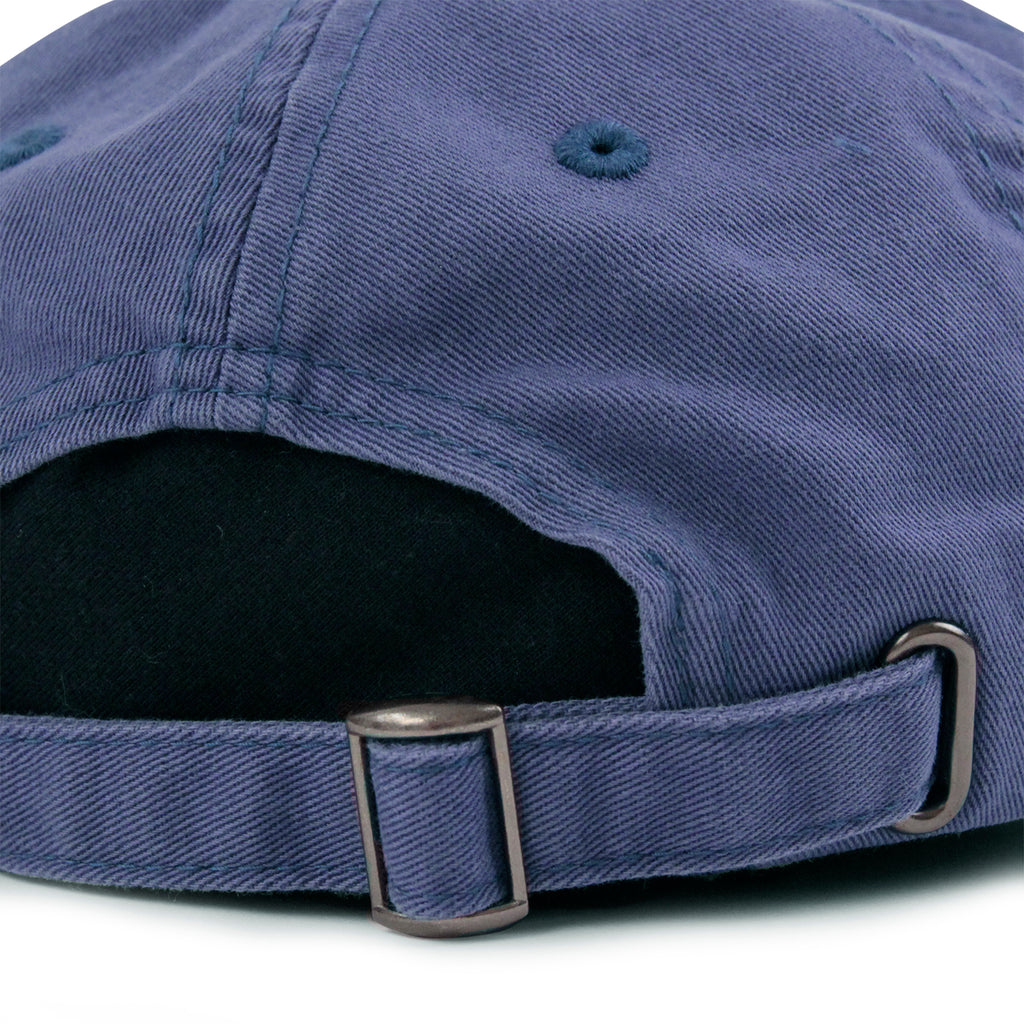 Stussy Low Profile Cap in Blue - Strap