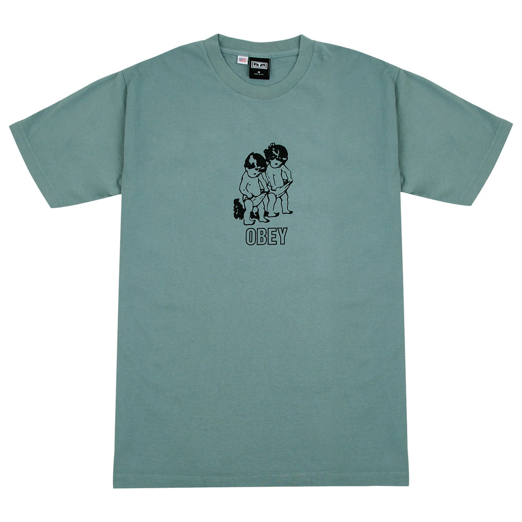Obey Clothing Curious Kiddo's in Atlantic Green