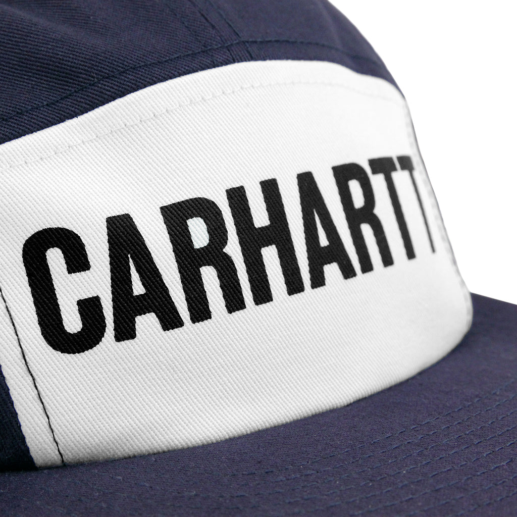 Carhartt Shore Starter Cap in Blue / Black - Print