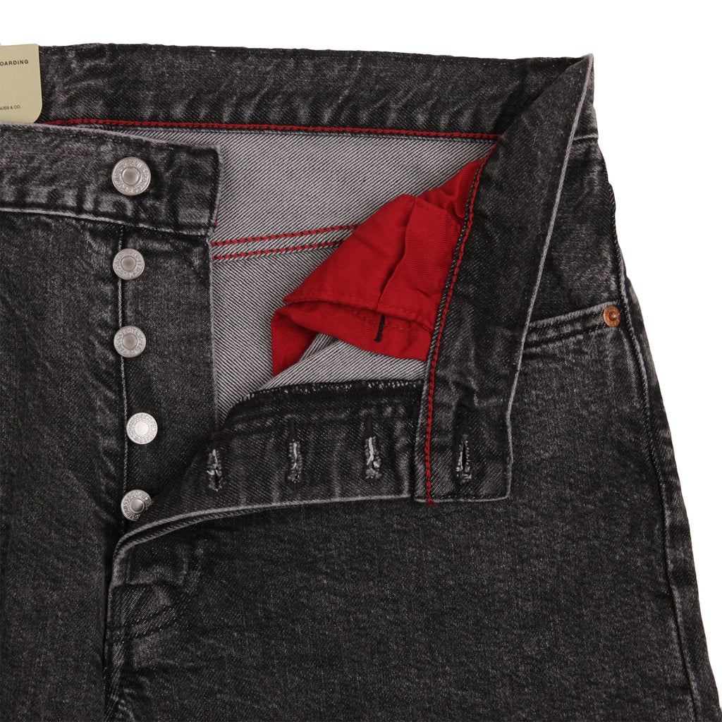 Levis Skateboarding 501 Jeans in Morningside - Open fly