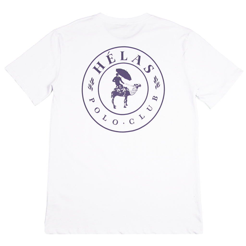Helas Polo Club T Shirt in White