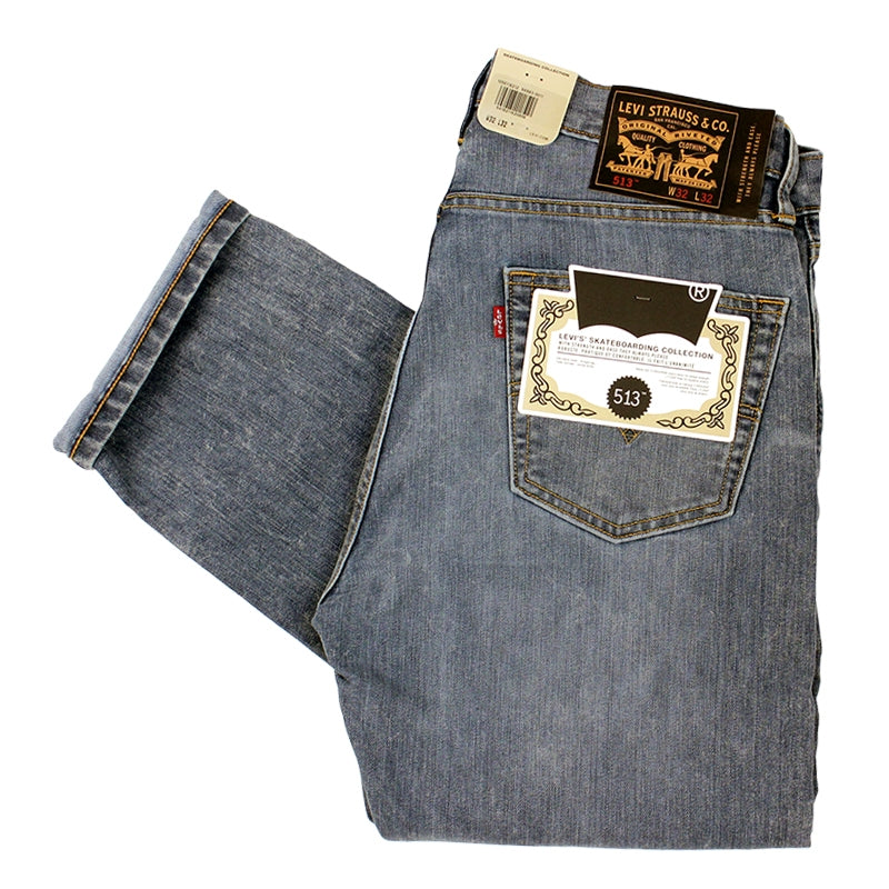 Levis Skateboarding 513 Slim Straight Jeans in Ingleside