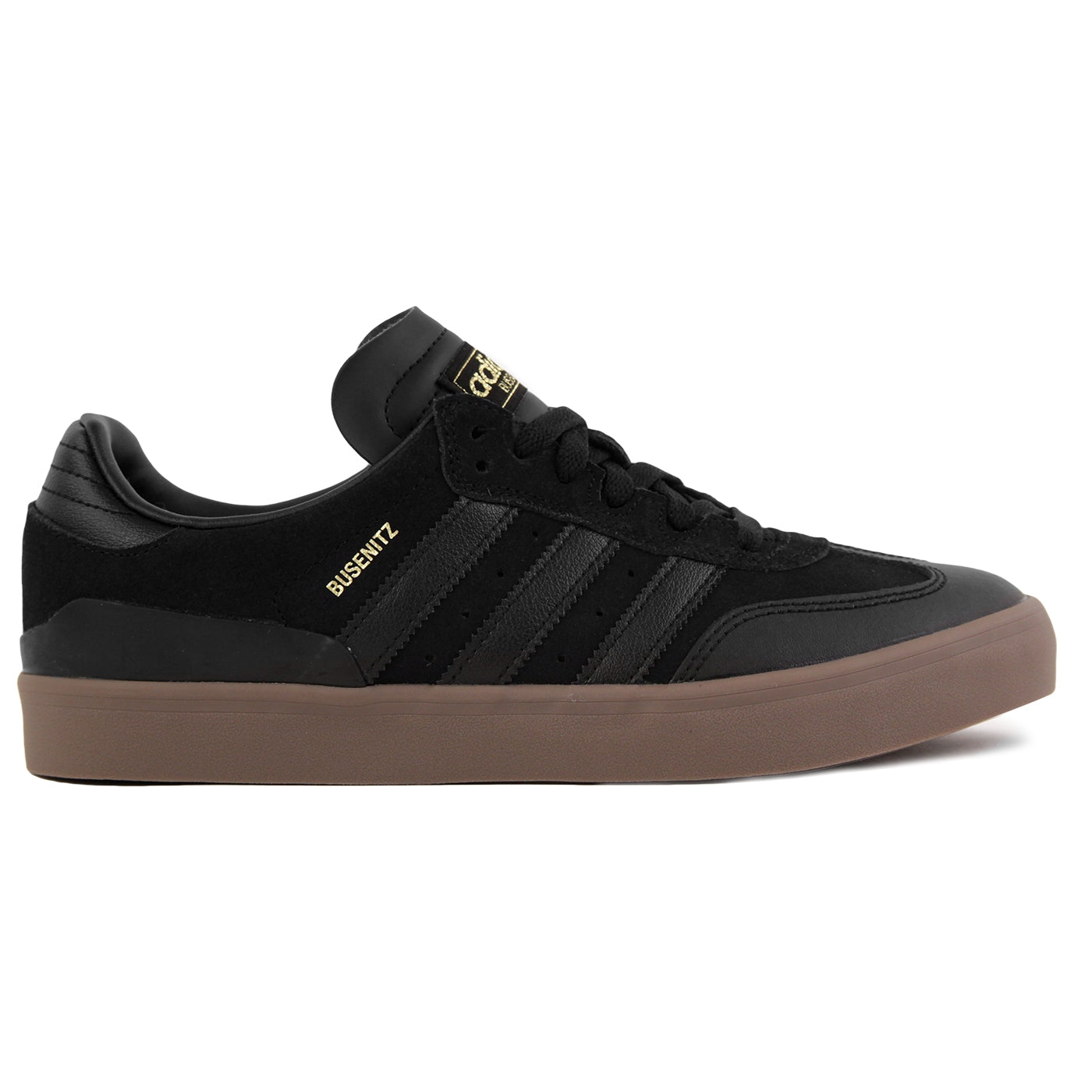 Busenitz Vulc RX Skate Shoes in Core Black   Core Black   Gum by ... a9172fa8f