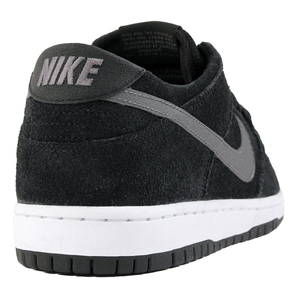 Nike SB Dunk Low Pro Ishod Wair Shoes in Black / Light Graphite / White - Heel