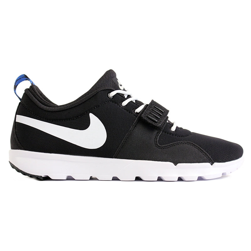 Nike SB Trainerendor SE Shoes in Black / White / Distinct Blue