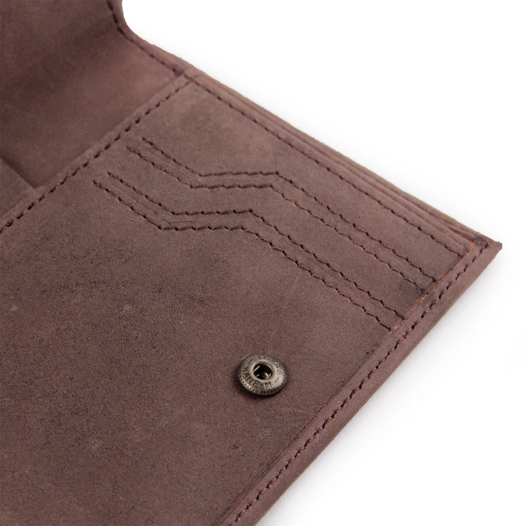 Dickies Ridgeville Wallet in Brown - Open 2