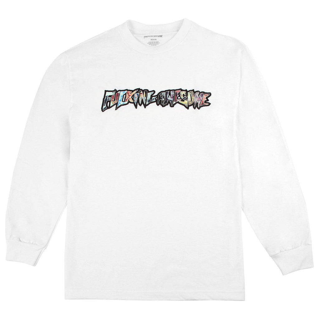 Fucking Awesome L/S Weirdo Dave T Shirt in White