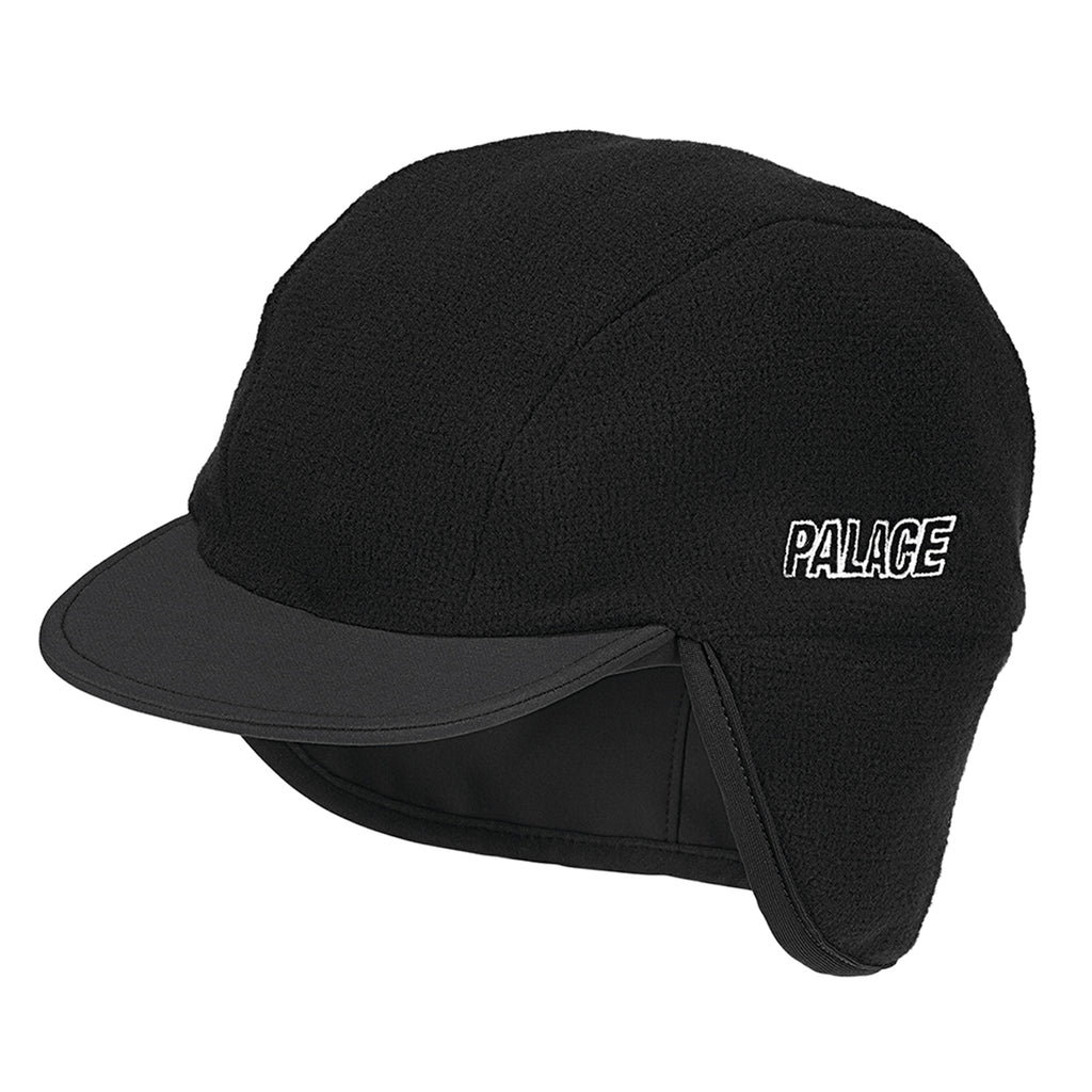 Palace x Adidas Palace Cap in Black - Detail