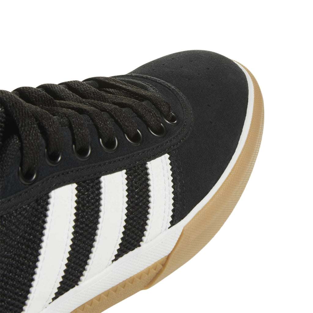 Adidas Lucas Premiere Shoes in Core Black / Footwear White / Gum - Detail