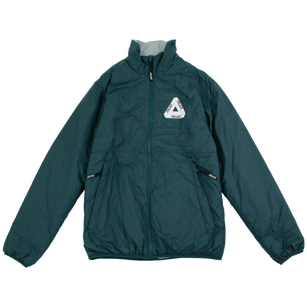 Palace Reversible Thinsulate Jacket in Green Gables / Puritan Grey