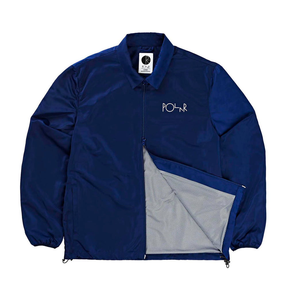 Polar Skate Co Coach Jacket in Navy