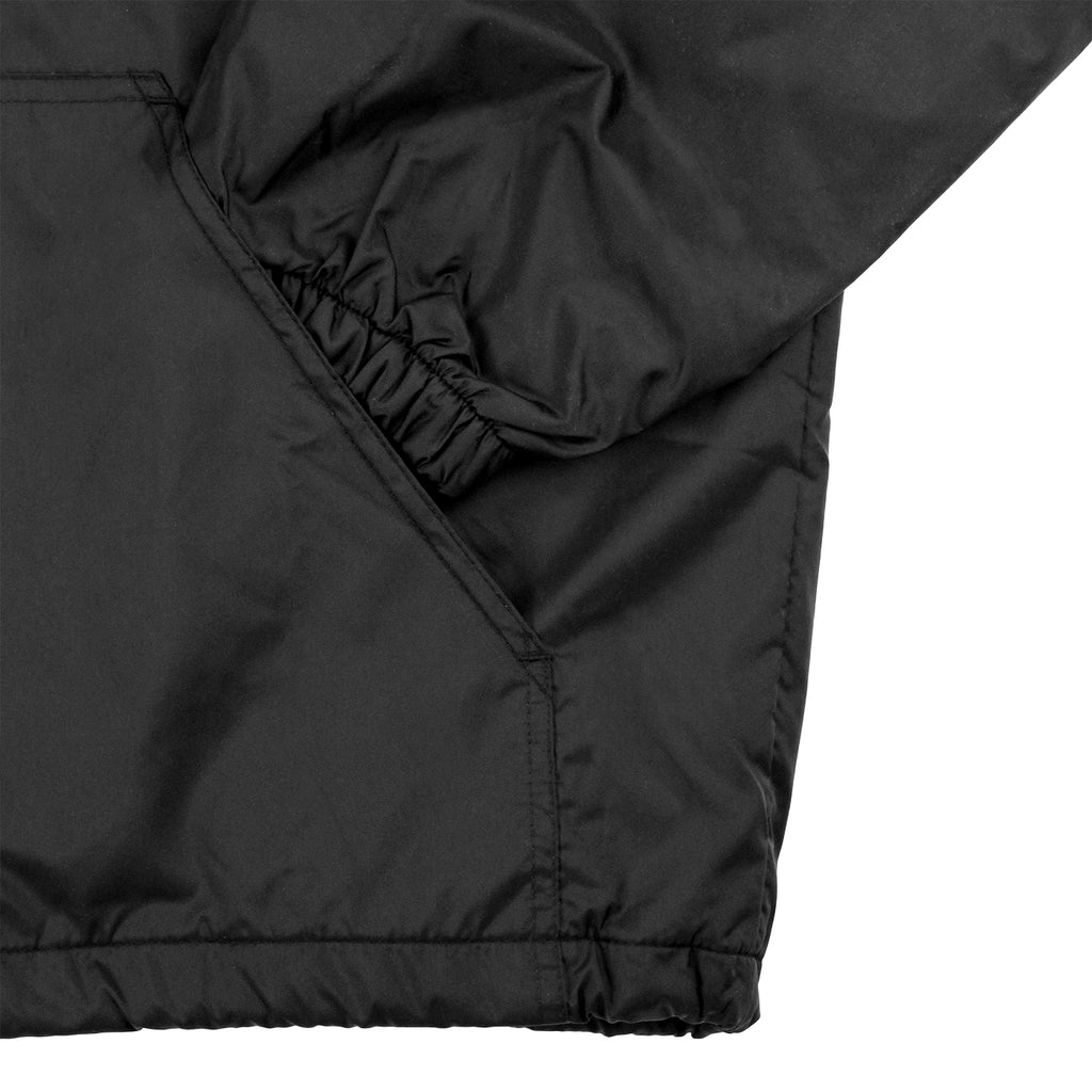 Thrasher Skategoat Coach Hooded Jacket in Black / Red - Pocket