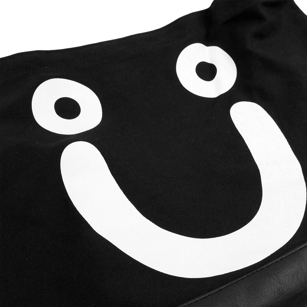 Polar Skate Co Happy Sad Tote in Black / White - Happy