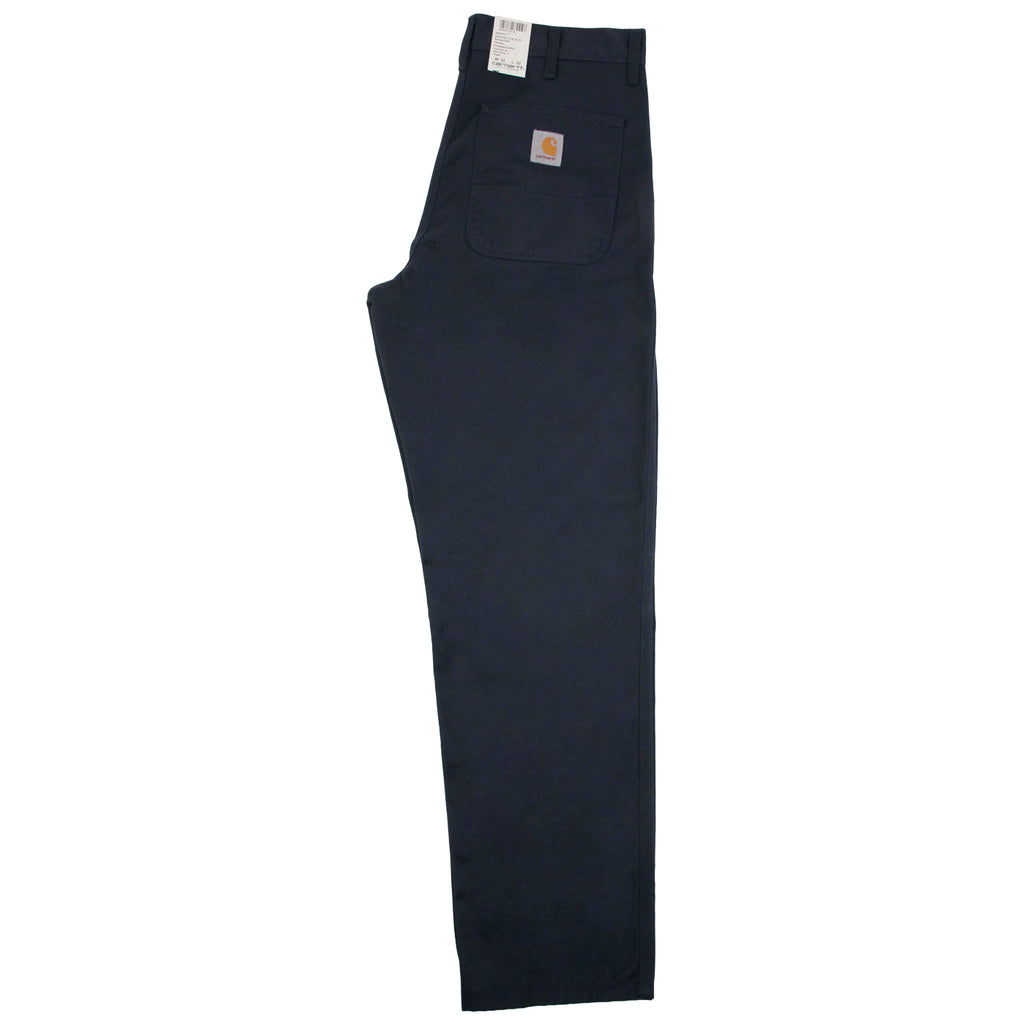 Carhartt Simple Pant in Dark Navy - Open