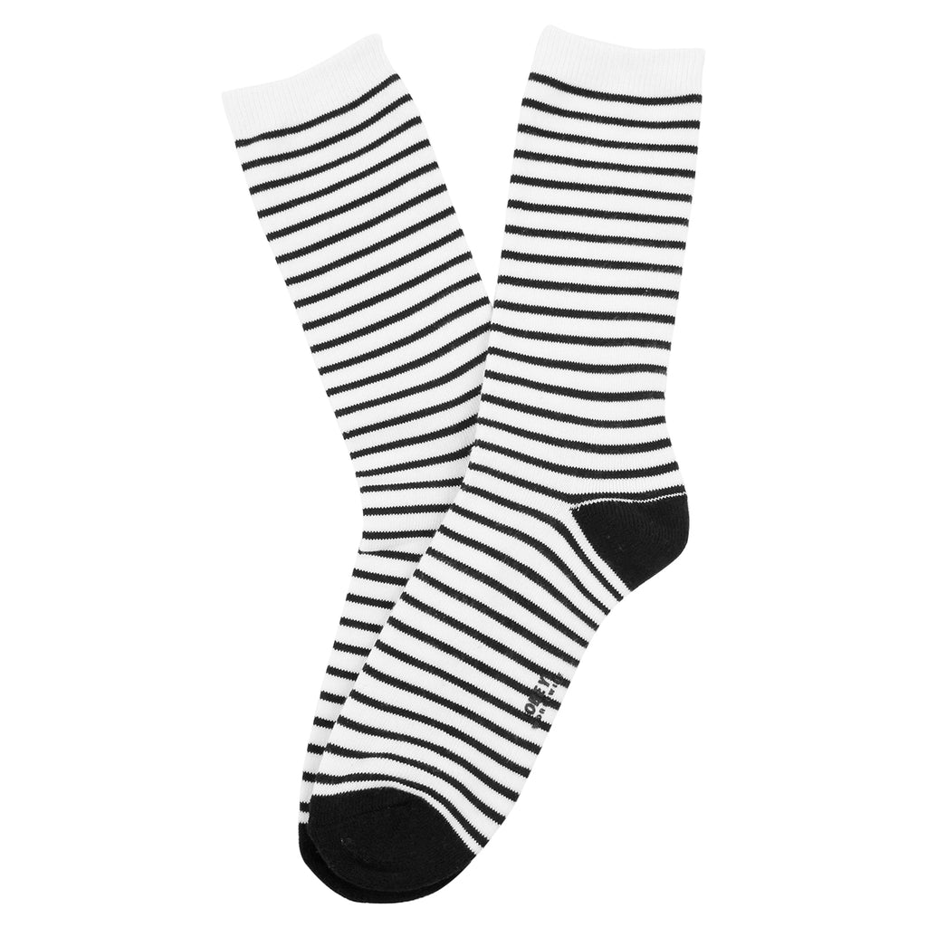 Obey Clothing Marseille Socks in Black / White