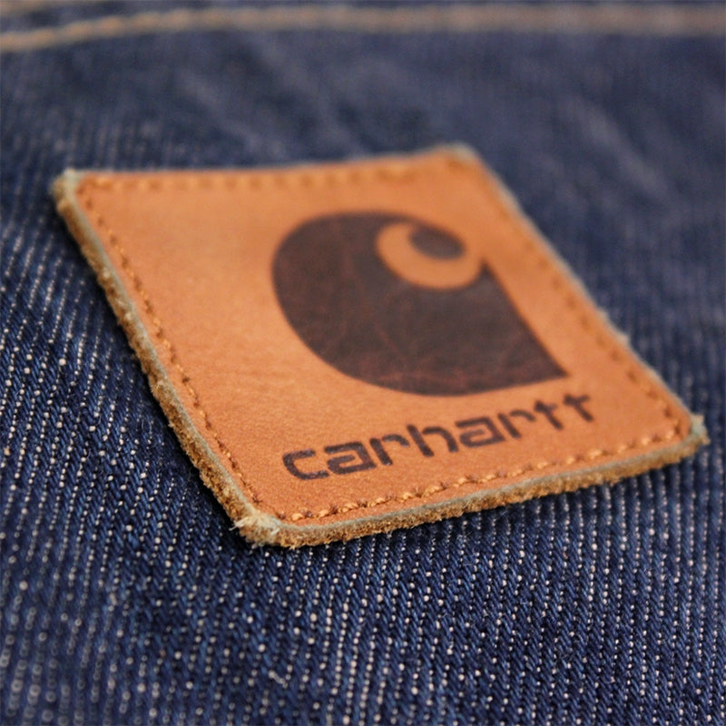 Carhartt WIP Lincoln Simple Pant in Blue / Rinsed - Patch