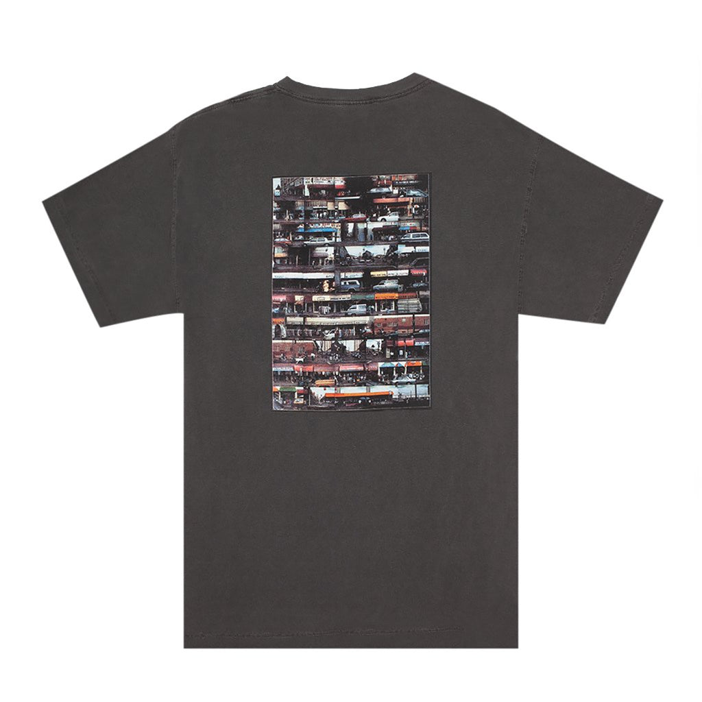 Hockey Skateboards Dirty Boulevard T Shirt in Pigment Dyed Pepper - Back
